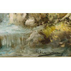 View 8: J.A. Jensen (20th Century) Oil on Canvas