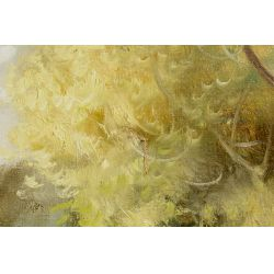 View 10: J.A. Jensen (20th Century) Oil on Canvas