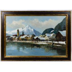 View 12: J.A. Jensen (20th Century) Oil on Canvas