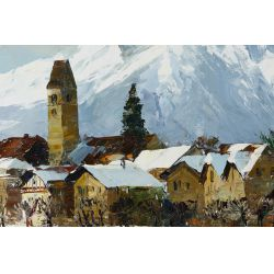 View 13: J.A. Jensen (20th Century) Oil on Canvas