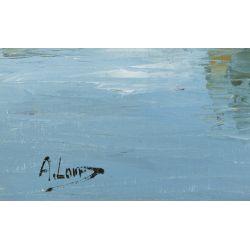 View 14: J.A. Jensen (20th Century) Oil on Canvas