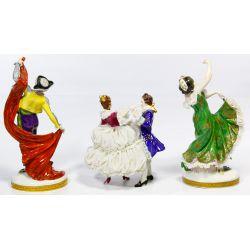 View 2: Porcelain Figurine Assortment