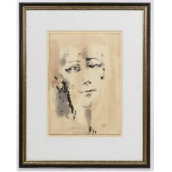 View 10: Poletti (American, 1908-1996) Watercolors on Paper