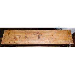 View 2: Pine Open Cabinet and Oak Door