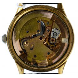 View 5: Omega 14k Gold Case Automatic Chronometer Wrist Watch