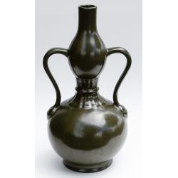 View 9: Chinese Qianlong Amphora Tea Dust Vase