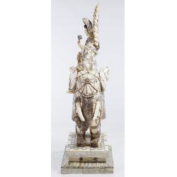 View 2: Asian Bone Veneer Sculpture