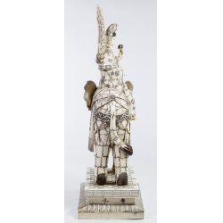 View 4: Asian Bone Veneer Sculpture