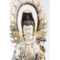 View 7: Asian Bone Veneer Sculpture