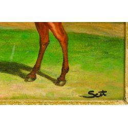 View 3: Unknown Artist (European, 20th Century) Oil On Canvas