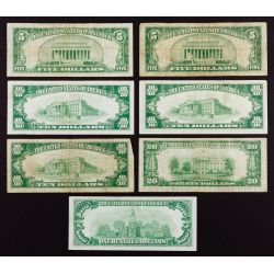 View 2: US National Chicago Bank Note Assortment