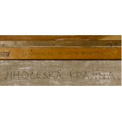 "View 6: Miroslav Kucera (Czech, b.1910) ""Countryside in South Bohemia"" Oil on Canvas Board"