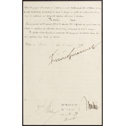 View 4: Benito Mussolini and Vittorio Emanuele III Signed Document