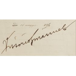 View 5: Benito Mussolini and Vittorio Emanuele III Signed Document