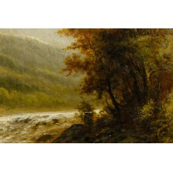 View 2: Wilhelm Olbrich (Austrian, 19th / 20th Century) Oil on Canvas