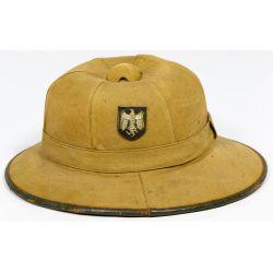 View 2: World War II Era Germany Tropical Pith Helmet