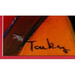 "View 3: Leroy Neiman (American, 1921-2012) ""Skateboard Boy"" Serigraph"