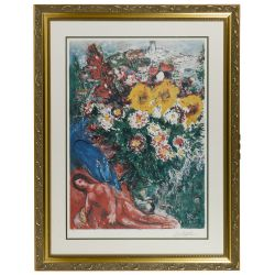 View 2: (After) Marc Chagall (Russian / French 1887-1985) and (After) Joan Miro (French, 1892-1983) Assortment