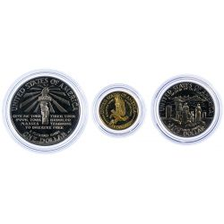 View 3: 1986 Liberty Gold and Silver Coin Set
