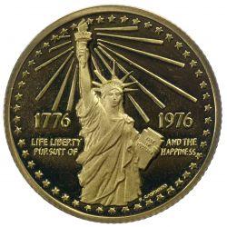 View 2: 1976 National Bicentennial Gold Medal