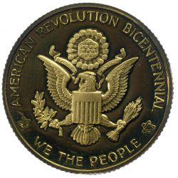 View 3: 1976 National Bicentennial Gold Medal