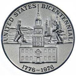 View 2: 1976 Platinum Bicentennial Medal