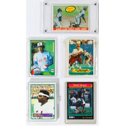 View 11: Mickey Mantle Signature, Baseball and Football Card Assortment