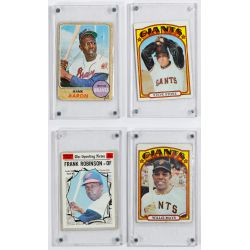 View 8: Mickey Mantle Signature, Baseball and Football Card Assortment