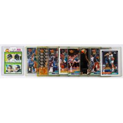 View 10: Mickey Mantle Signature, Baseball and Football Card Assortment