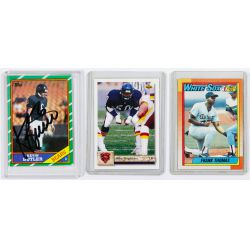 View 9: Mickey Mantle Signature, Baseball and Football Card Assortment