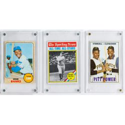 View 7: Mickey Mantle Signature, Baseball and Football Card Assortment