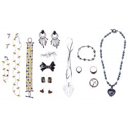 View 4: 10k Gold, Sterling Silver, Gold Filled and Costume Jewelry Assortment