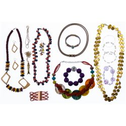 View 2: 10k Gold, Sterling Silver, Gold Filled and Costume Jewelry Assortment