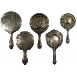 View 2: Sterling Silver Vanity Mirror Assortment