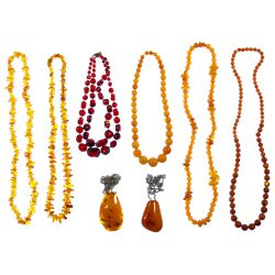 View 2: Amber Jewelry Assortment