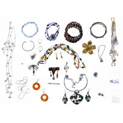 View 3: 10k Gold, Sterling Silver, Gold Filled and Costume Jewelry Assortment