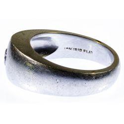 View 3: C. D. Peacock Platinum and Diamond Ring
