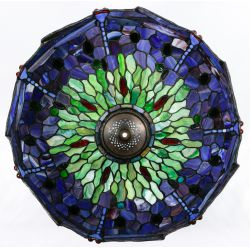 "View 6: Stained Glass Style ""Dragonfly"" Shade Table Lamp"