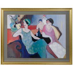 "View 3: Romain de Tirtoff (Erte) (Russian, 1892-1990) ""Emerald Night"" Print"