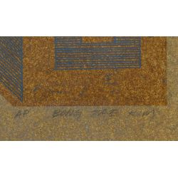 View 4: Bong Tae Kim (South Korea, b.1937) Lithograph