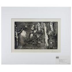 """View 2: Pablo Picasso (Spanish, 1881-1973) """"Dans l"""
