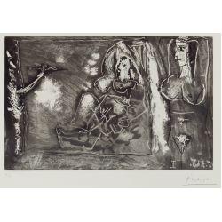 """View 3: Pablo Picasso (Spanish, 1881-1973) """"Dans l"""