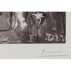 """View 4: Pablo Picasso (Spanish, 1881-1973) """"Dans l"""
