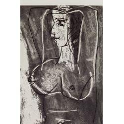 """View 6: Pablo Picasso (Spanish, 1881-1973) """"Dans l"""