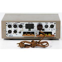 View 7: Quad 33-303 & Quad 405 Dumping Amplifier