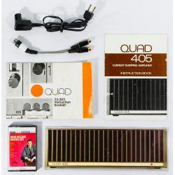 View 8: Quad 33-303 & Quad 405 Dumping Amplifier