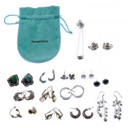 View 4: Sterling Silver and European Silver (800) Jewelry Assortment