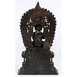 View 3: Asian Sino-Tibetan Bronze Buddha Figure