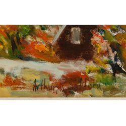 View 3: Arthur R. Safford (American, 1900-1992) Oil on Canvas