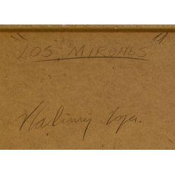 "View 8: Vladimir Cora (American / Mexican, b.1951) ""Los Mirones"" Oil on Canvas on Board"